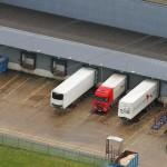 TrucksLoadingBayAerial